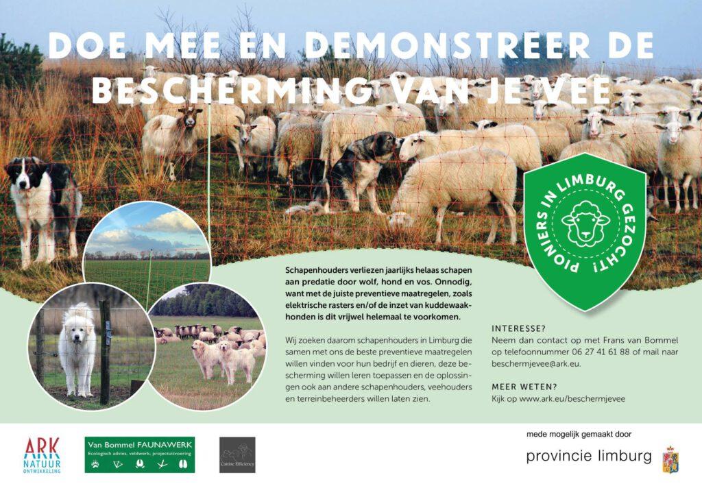 Doe mee en demonstreer de bescherming van je vee